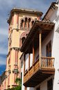 Colombia, View on the old Cartagena Stock Photography