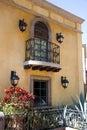 Colonial Balcony Royalty Free Stock Photo