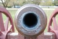 Colonial era cannon an image of a Royalty Free Stock Photography