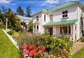 Colonial house in Akaroa Royalty Free Stock Photo