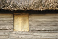 Colonial hut at plimoth plantation Royalty Free Stock Photo