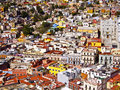Colonial town of guanajuato mexico february world heritage site historic city view th century buildings and houses Royalty Free Stock Images