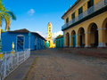 The colonial town of Trinidad in Cuba Stock Photography