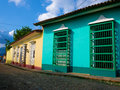 The colonial town of Trinidad in CubaA Stock Image