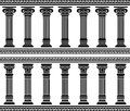 Colonnade Photos stock