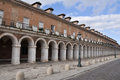 Colonnade in Casa de los Oficios palace, Aranjuez (Spain) Stock Photography