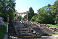 Colonnade of Kislovodsk park Royalty Free Stock Photo