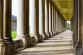 Colonnade in University of Greenwich Royalty Free Stock Photo