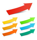 Color arrows Royalty Free Stock Image