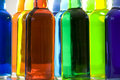 Color Bottles Still Life Royalty Free Stock Photo