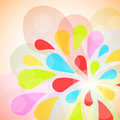 Color burst background. Royalty Free Stock Image