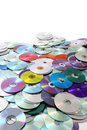 Color cd and dvd background data as nice technology Stock Images