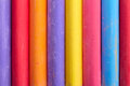 Color chalk abstract composition upright Royalty Free Stock Photo