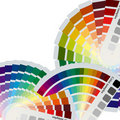 Color charts background Royalty Free Stock Photo