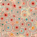 Color circle pattern Royalty Free Stock Photo