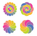 Color circles Royalty Free Stock Photos