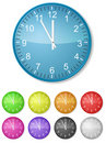 Color clock Stock Photography