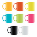 Color Coffee Cup Royalty Free Stock Photo