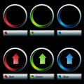 Color Control Dials Royalty Free Stock Images