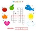 Color crossword