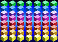 Color Cubes Stock Photo