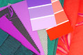 Color design selection for interior Royalty Free Stock Images