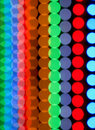 Color dots blurring background Stock Image