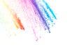 Color dust explosion