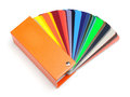 Color fan or swatch Royalty Free Stock Photo