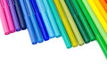 Color felt-tip pens Royalty Free Stock Photo