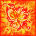 Color fiery abstraction Stock Image