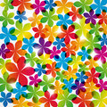 Color floral background lights Royalty Free Stock Photography