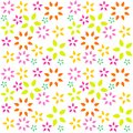 Color flower background Stock Photo