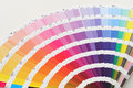 Color guide close up Royalty Free Stock Photo