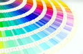 Color guide swatch Royalty Free Stock Photo