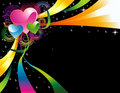 Color heart  Royalty Free Stock Photo