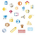 Color icons Royalty Free Stock Images