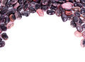 Color kidney beans isolated Stock Photo