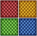 Color leather upholstery background Stock Photos
