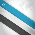 Color lines for customization info graphics business illustration design Stock Photography