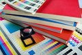 Color management set Stock Photography