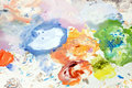 Color mix Stock Images
