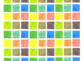 Color mix background, pencils Royalty Free Stock Photography