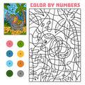 Color by number, Elephant