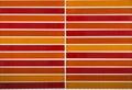 Color orange mosaic tiles background Royalty Free Stock Photo