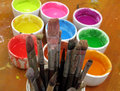 Color painting Royalty Free Stock Photography