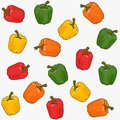 Color papper seamless patter in vector illustration Royalty Free Stock Photography