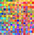 Color patchwork abstract a vibrant geometric Stock Image