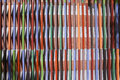 Color pattern construction of vertical and horizontal lines Stock Photos