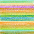 Color pencil background textured strip Stock Images